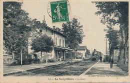 H151 - 38 - LA VERPILLIÈRE - Isère - La Gare - Sonstige Gemeinden