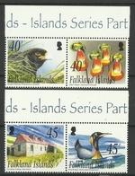 FALKLAND ISLANDS   2003   NEW  IS.  -  PENGUIN,CARACARA,FLOWER -   SET   MNH. - Non Classés