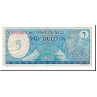 Billet, Surinam, 5 Gulden, 1982, 1982-04-01, KM:125, TTB - Surinam