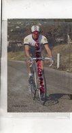 19 - CYCLISME BRUN FREDERIC - TEAM PEUGEOT- 2 E AU TOUR DES MONEDIERES EN 1986- RARE PHOTO ORIGINALE E - Ciclismo