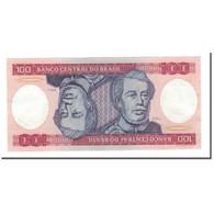 Billet, Brésil, 100 Cruzeiros, Undated (1981-84), KM:198b, SUP - Brésil