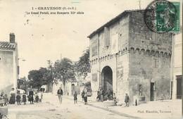 GRAVESON LE GRAND PORTAIL AVEC REMPARTS XIIè SIECLE 13 - France