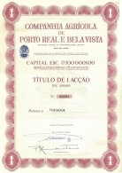 PORTUGAL, Acções & Obrigações, F/VF - Fiscaux