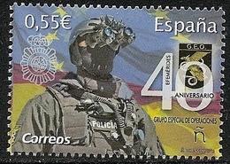 2018-ED. 5255 COMPLETA- 40 Aniversario Grupo Especial De Operaciones (G.E.O.) -NUEVO - 1931-Today: 2nd Rep - ... Juan Carlos I