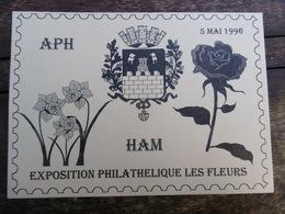 D 80 - Ham - 6 ème Exposition Philathélique Les Fleurs - 5 Mai 1996 - Ham
