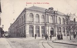 LUNEVILLE - Les Halles Et Le Collège - Luneville