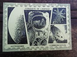 D 80 - Ham - Exposition Du 26 Avril 1998 - Conquete De L'espace - Astronomie, Communication - Ham