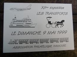 D 80 - Ham - XII ème Exposition - Dimanche 9 Mai 1999 - Les Transports - Ham