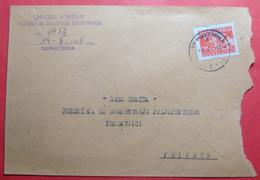 1947 DEMOCRATIC REPUBLIK OF Yugoslavia AGRICULTURE LETTER Sent From PRISTINA To PRIZREN (Kosovo-Serbia), RARE - 1945-1992 Socialist Federal Republic Of Yugoslavia