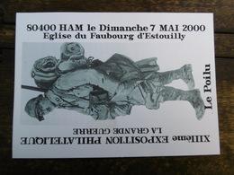 D 80 - Ham - XIIIème Exposition - Le Dimanche 7 Mai 2000 - Ham