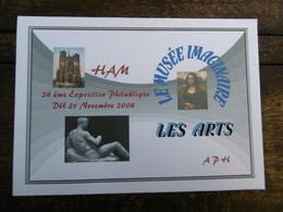 D 80 - Ham - 24 ème Exposition Philatélique - Du 21 Novembre 2004 - - Ham