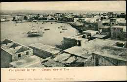 Liban Lebanon ~ Vue Generale De Tyr ~ Postcard 13968 - Liban