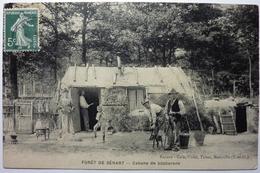 CABANE DE BÛCHERONS - FORÊT DE SÉNART - France