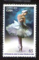 657  Dance - Ballet - Ana Pavlova 2015 - MNH - Cb - 1,75 - Danse