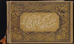 Souvenir Album Of The Great West C1890 - Livres, BD, Revues