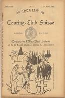 Aviation - Revue De L'Aéro-Club Suisse - 1905 - Rarissime - Livres, BD, Revues