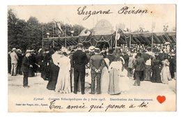 23529-LE-88-Epinal-Courses Vélocipédiques Du 7 Juin 1903-Distribution Des Récompenses------------animée - Epinal
