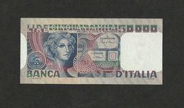 ITALY 50000 ITALIA 50,000 LIRE 1980 P-107 NICE VF/EF GRADE - [ 2] 1946-… : République