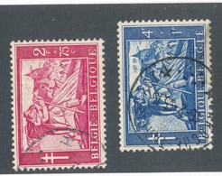 BELGIQUE - N°YT 959/60 OBLITERES - COTE YT : 20€ - 1954 - Belgique