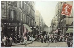 RUE DE MONTREUIL , VUE PRISE DE LA RUE DES BOULETS - PARIS - Distretto: 11
