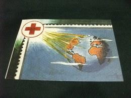 CROCE ROSSA 1° MOSTRA A CONCORSO 1997 GENOVA ILLUSTRATORE ASSERETO - Croce Rossa
