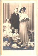 Photographie - Photos - Originales - Personnes - Famille - Photo 11X18 Cm - Personnes Anonymes