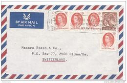 101 - 53 - Enveloppe Envoyée De Sydney En Suisse 1966 - 1966-79 Elizabeth II