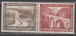 DRW 115 , Ungebraucht *, WHW Moderne Bauten 1936 - Se-Tenant