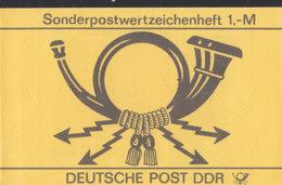 DDR SMHD 29, Posthorn 1986, Mit 10x 3079, Frauenbund - Markenheftchen