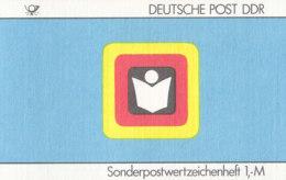 DDR SMHD 35, Zeitungsvertrieb 1987, Mit 10x 3156, Siegel - Booklets