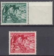 DR 684 X - 685, Postfrisch **, Volksabstimmung Sudetenland 1938 - Germany