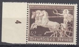 DR 747, Mit Linkem Rand, Postfrisch **, Das Braune Band 1940 - Duitsland