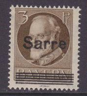 Saargebiet MiNr. B31 ** Gepr. - 1920-35 Saargebiet – Abstimmungsgebiet