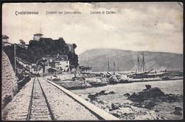 Montenegro Hercegnovi, Castelnuovo / Einfahrt Zur Bahnstation / Railway - Montenegro