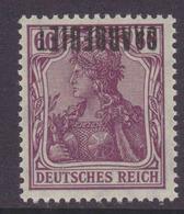 Saargebiet MiNr. 39K ** Gepr. - Kopfstehender Aufdruck - 1920-35 League Of Nations