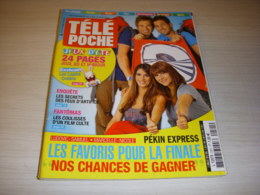 TELE POCHE 2421 02.07.2012 PEKIN EXPRESS Alex GOUDE Kelli GIDDISH FANTOMAS - Television