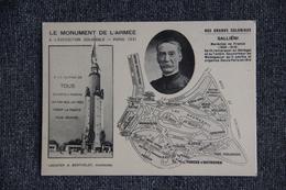 PARIS - Le Monument De L'Armée à L'Exposition Coloniale De 1931 :Nos Grands Coloniaux , GALLIENI. - Ausstellungen