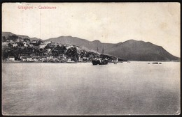 Montenegro Hercegnovi, Castelnuovo, Erzegnovi 1910 / Ship - Montenegro