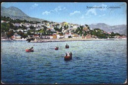 Montenegro Hercegnovi, Castelnuovo 1912 / Rowing Boats / Unused, New - Montenegro