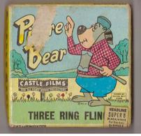 Bande De Film Super 8. Pierre Bear: Three Ring Fling. Dessin Animé - Andere Verzamelingen
