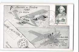 16544 JOURNEE DU TIMBRE 1949 LE HAVRE - CHOISEUL - Francia