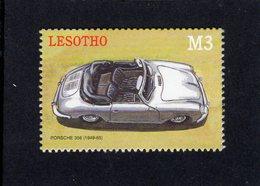 Lesotho - The Automobile -  PORSCHE 356 (1950)  - 1v Neuf/Mint/MNH - Voitures