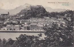 AK Salzburg Vom Kapuzinergarten - 1906 (36687) - Salzburg Stadt