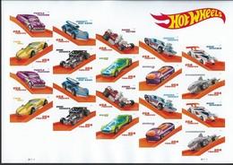USA. Scott # MNH Sheet Of 20. Hot Wheels Cars 2018 - Sheets