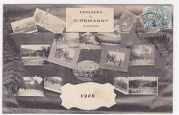 Territoire De Belfort - Concours De Giromagny (5 Et 6 Août) 1906 - Giromagny