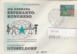 LSC 1965 - DUSSELDORF - 43 èm Congrès ESPERANTO - Esperanto