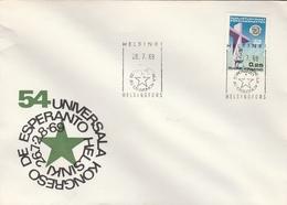 LSC 1969 - FINLANDE - HELSINKI  - Cachet ESPERANTO - Esperánto