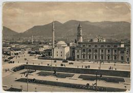 TIRANA     PIAZZA   SCANDERBERG     1941          (VIAGGIATA) - Albania