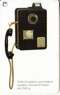 CROATIA(chip) - Siemens & Halske 1940, T Telecom Telecard 30 Kn, Exp.date 12/10, Used - Telephones