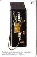 CROATIA(chip) - Standard Electric 1925, T Telecom Telecard 15 Kn, Exp.date 12/10, Used - Telephones